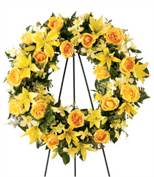 Heart of Gold Wreath