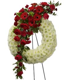 Glimpse of Heaven Sympathy Wreath