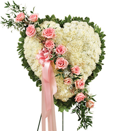 Forever in My Heart Standing Wreath